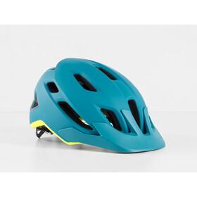 Bontrager Quantum MIPS Helm teal/volt